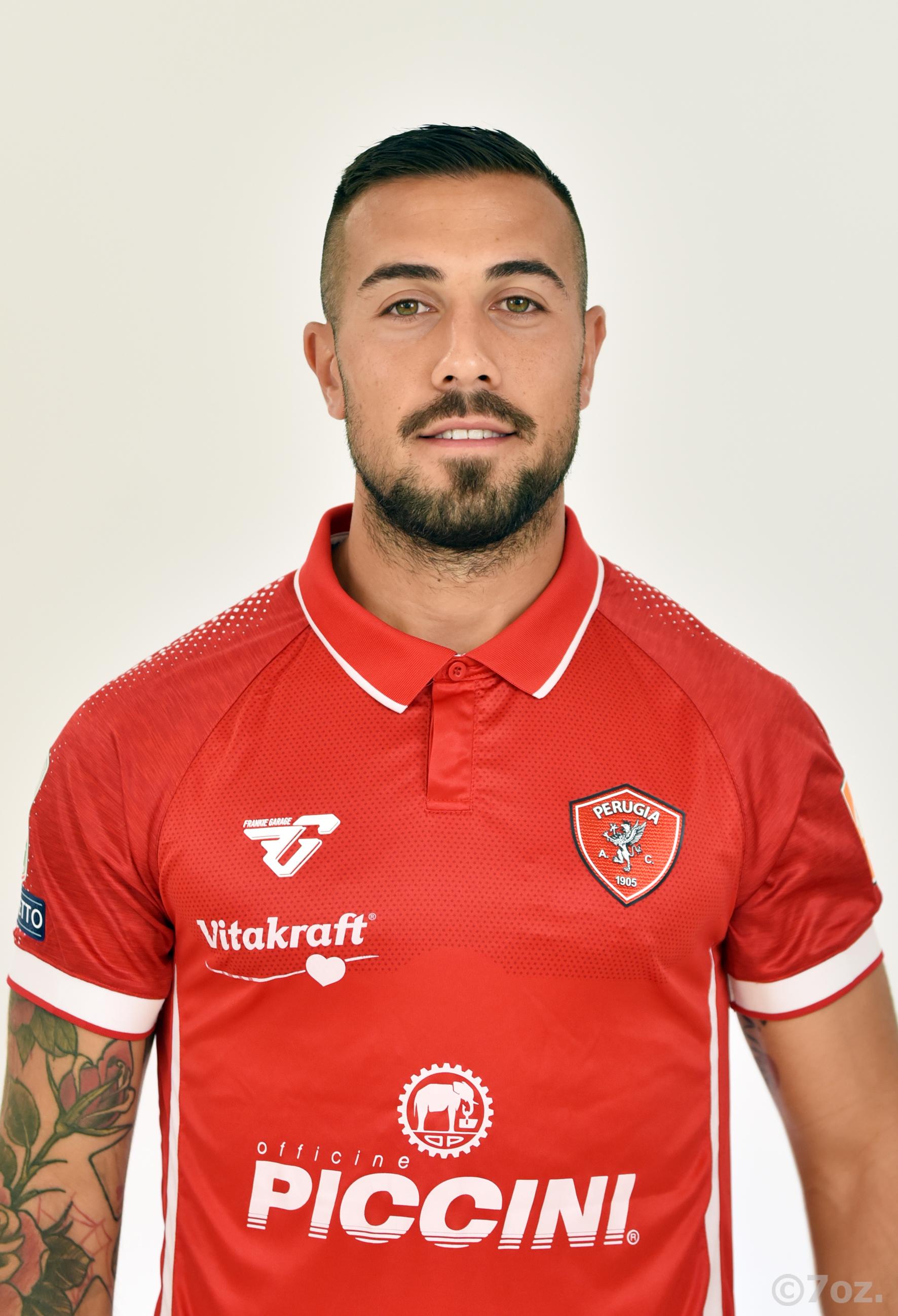 Marcello FalzeranoCentrocampista- A.C. Perugia Calcio