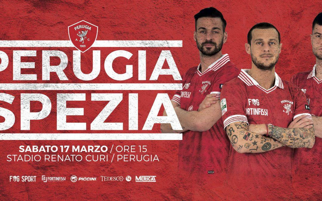 Live Perugia-Spezia, 0-0