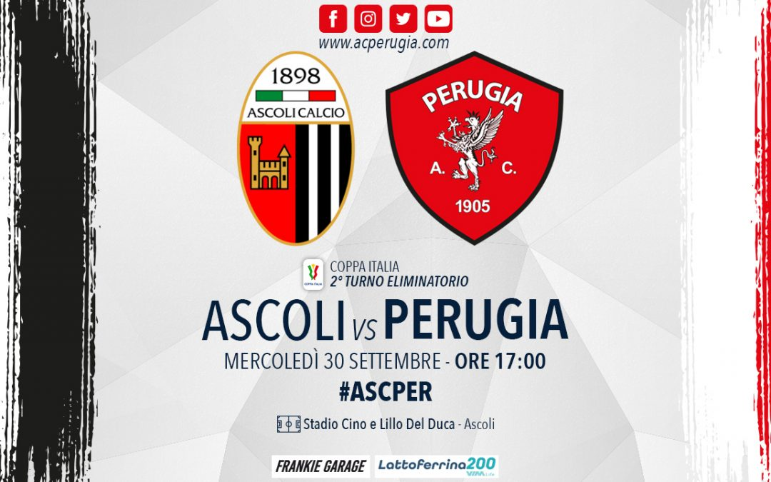 ASCOLI-PERUGIA, inizia l'avvicinamento al match