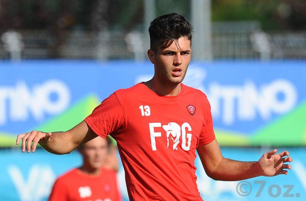 Dossena convocato in Nazionale under 20