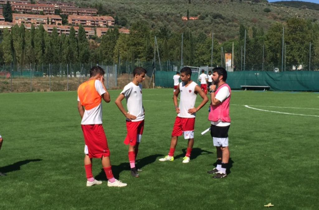 Under 16, mattina di lavoro all'antistadio