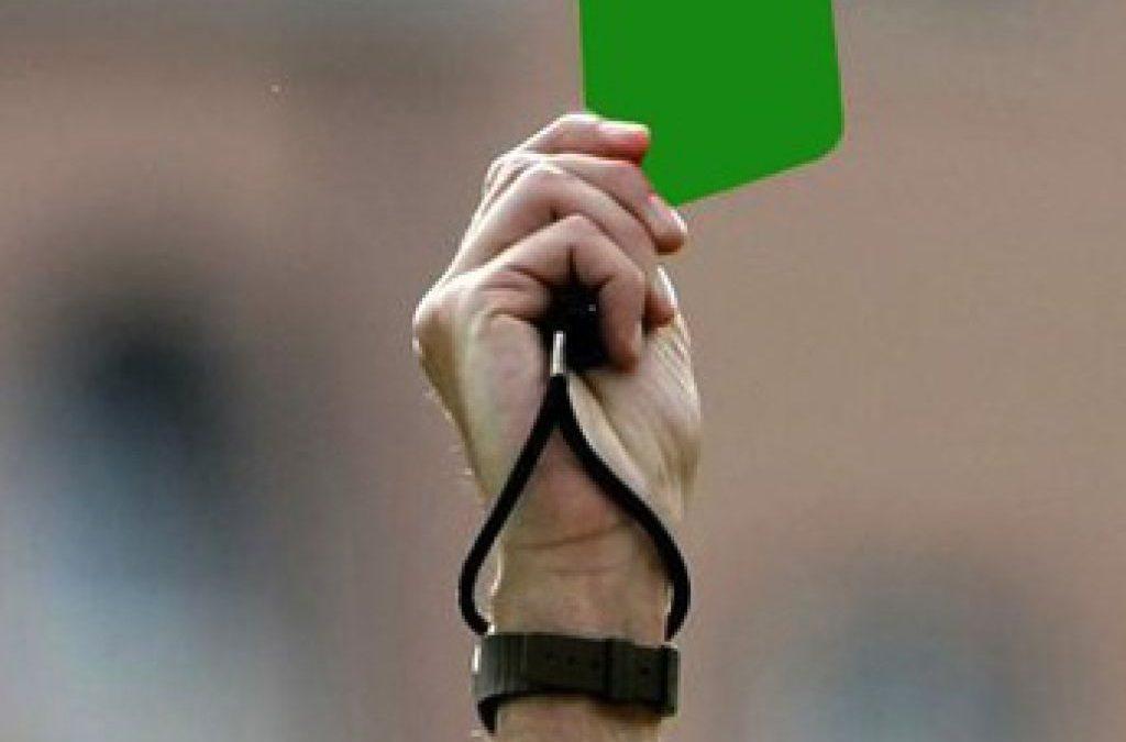 """Prosegue l'iniziativa """"cartellino verde"""""""
