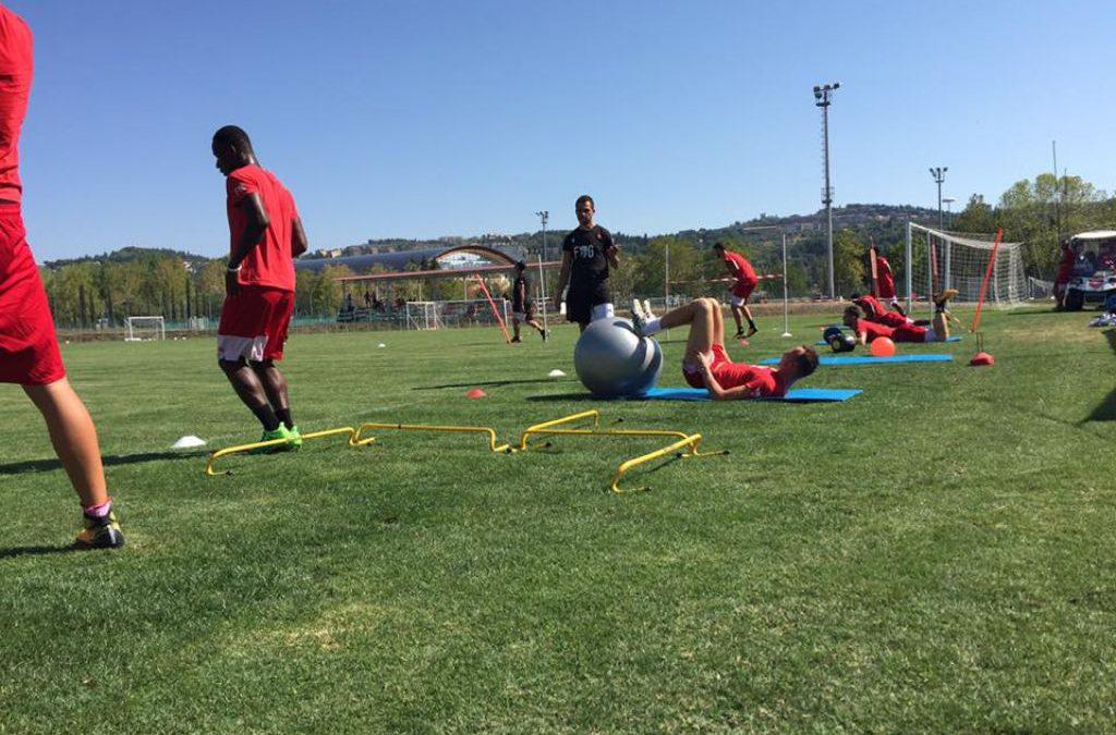 Programma allenamenti in vista di Virtus Entella-Perugia