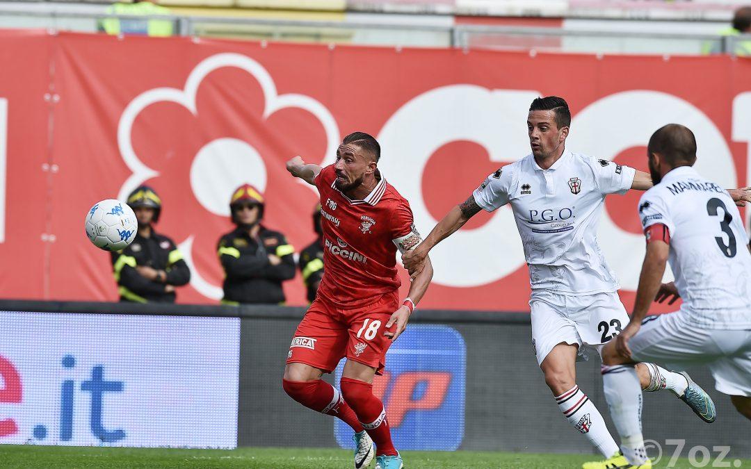 Perugia-Pro Vercelli termina 1-5