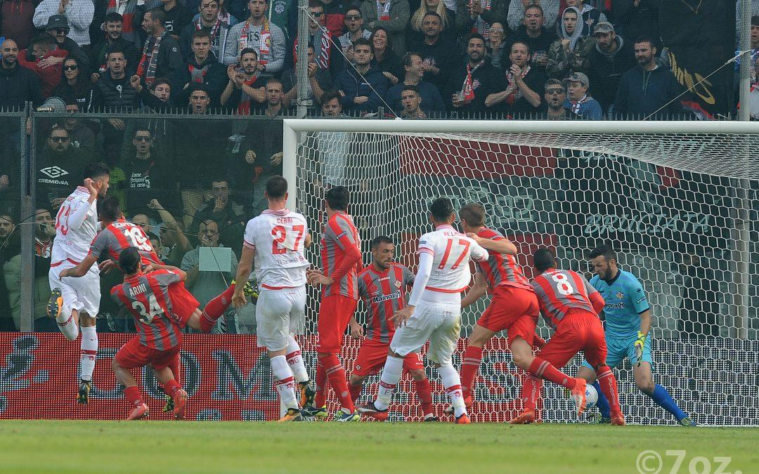 Cremonese-Perugia termina 3-3