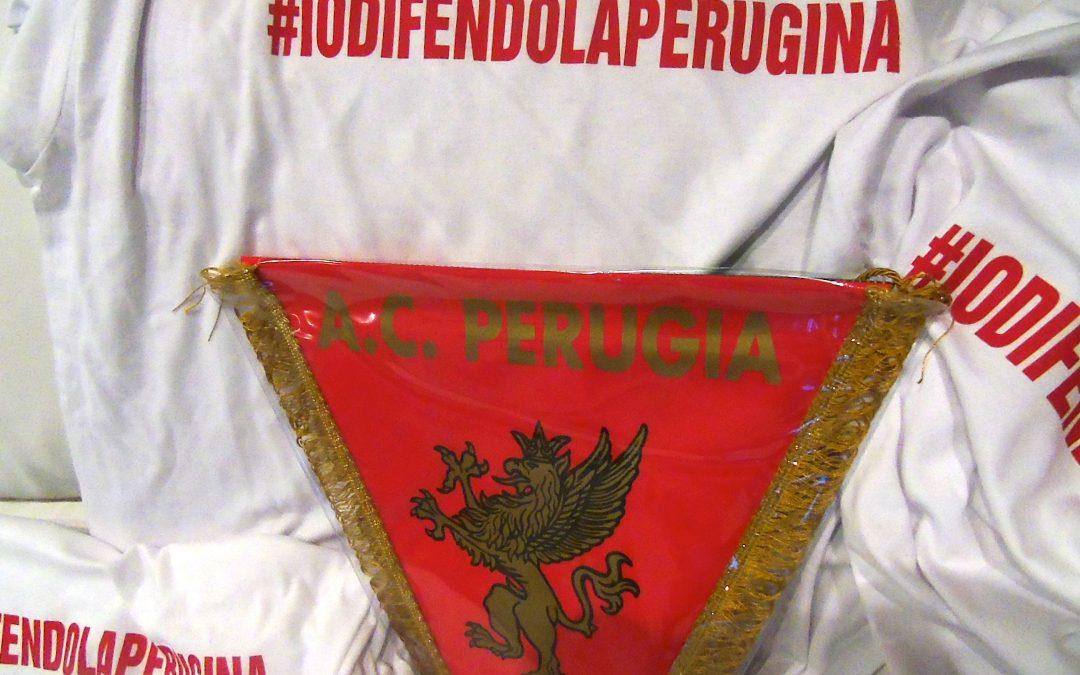 Il Perugia vicino ai lavoratori della Perugina