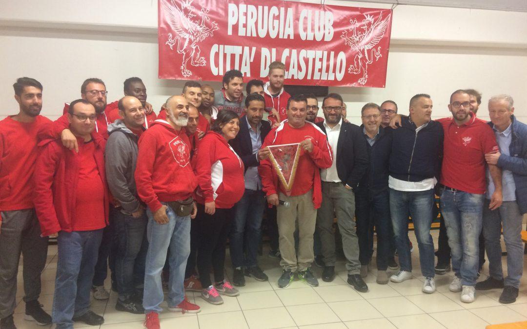 Il DG e Mister Giunti al Perugia Club Città di Castello