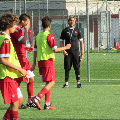 UNDER 15, PROSEGUE IL LAVORO ALL'ANTISTADIO