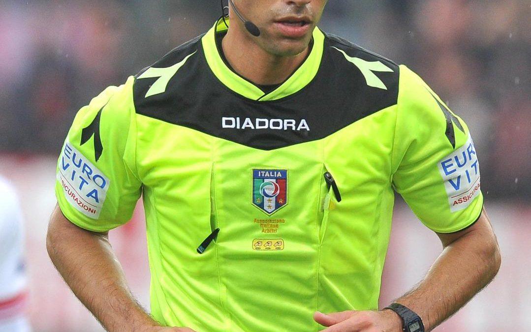 Perugia-Pro Vercelli affidata all'arbitro Saia