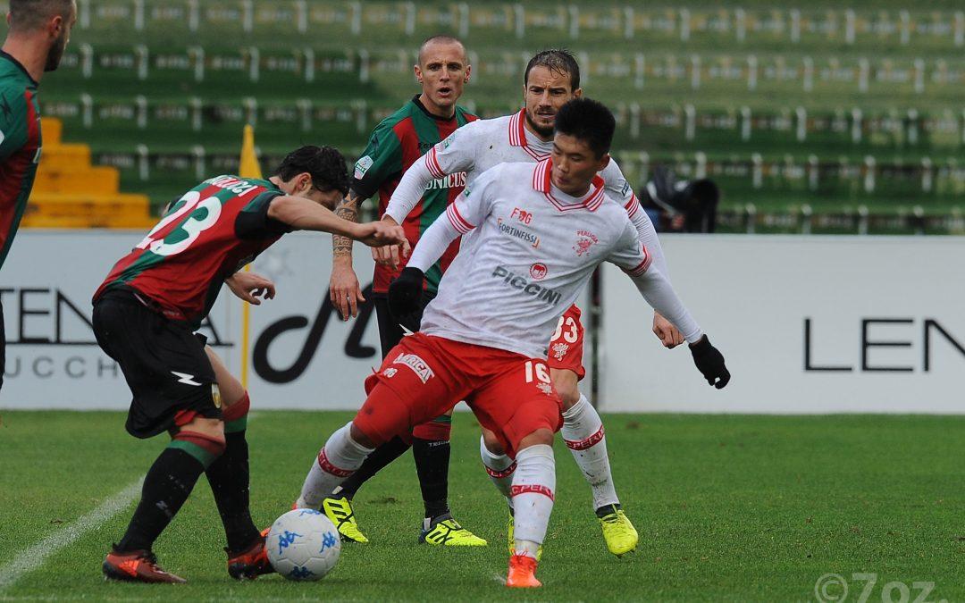 Ternana U.-Perugia termina 1-1
