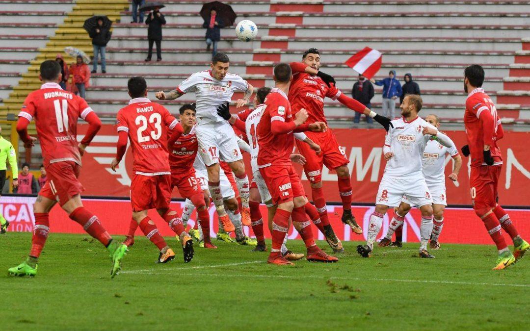 Perugia-Bari termina 1-3