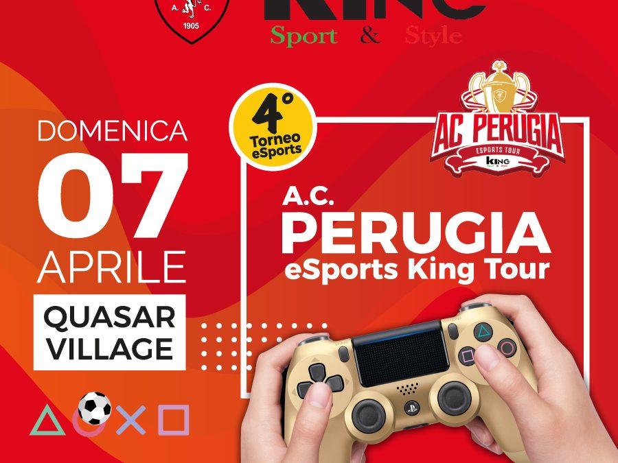 DOMENICA 7 APRILE QUARTA TAPPA A.C. PERUGIA ESPORTS KING TOUR