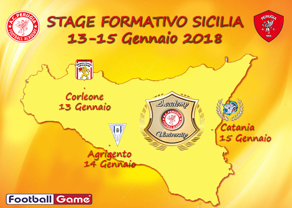 Football Academy in partenza per la Sicilia