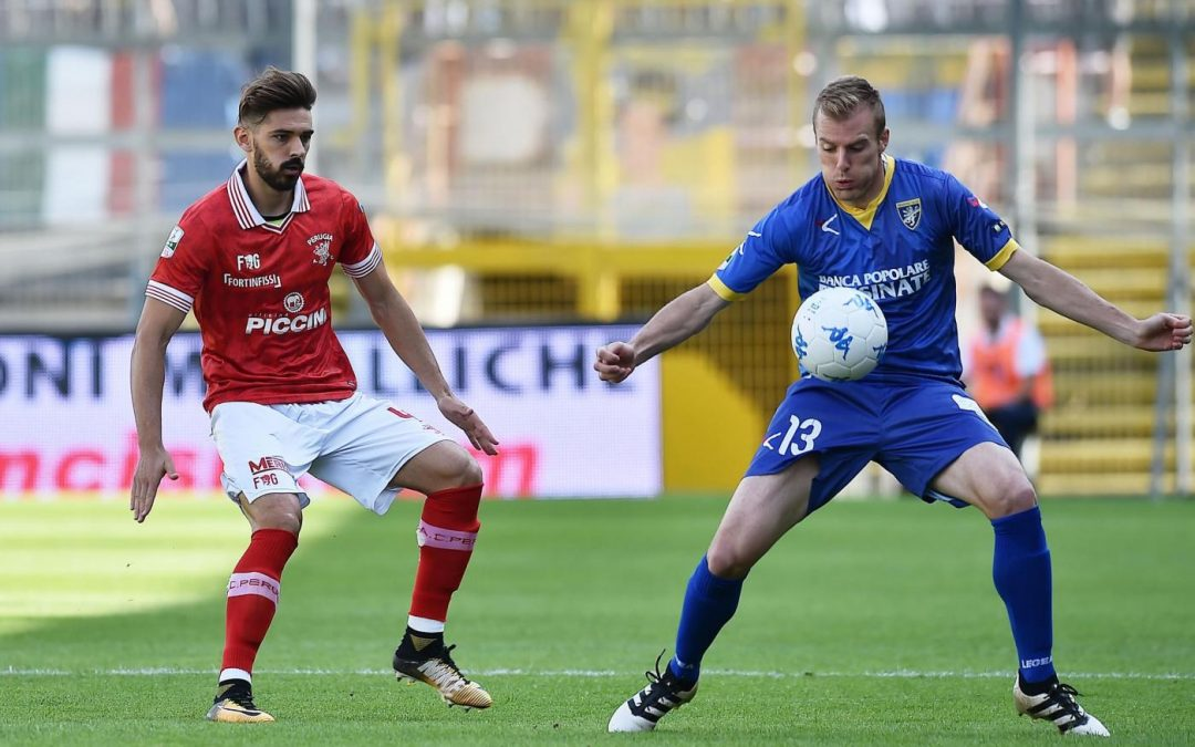 I biglietti per Frosinone-Perugia