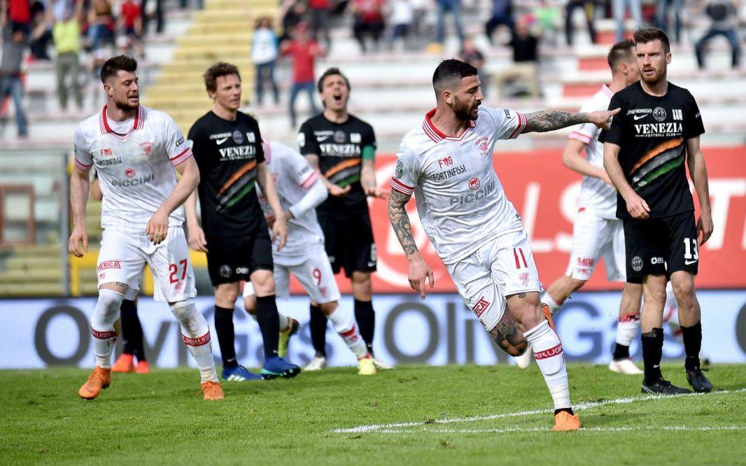 Perugia-Venezia 1-1