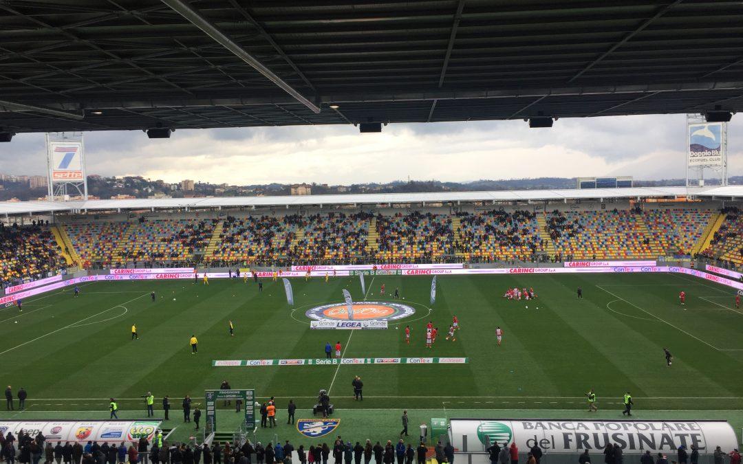 Frosinone-Perugia termina 1-3