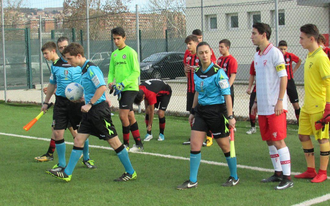 UNDER 16, PERUGIA-FOGGIA 0-0