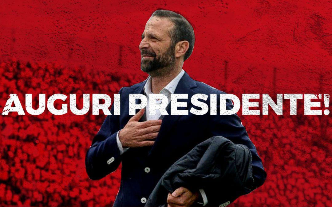 Auguri Presidente
