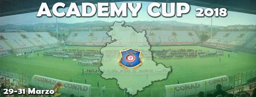 In arrivo l'Academy Cup 2018