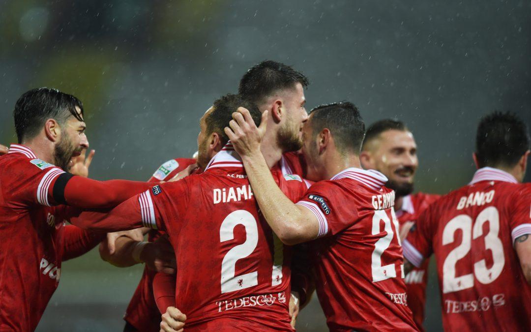 Perugia-Cremonese termina 1-0