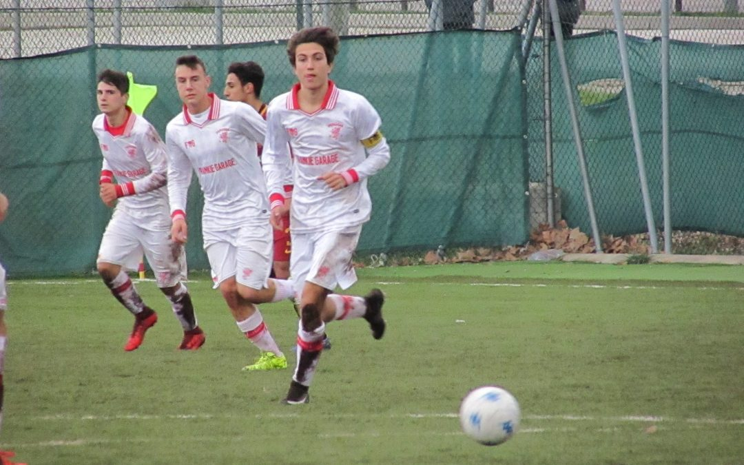 UNDER 16, PERUGIA-ROMA 2-4