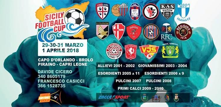 SICILY FOOTBALL CUP, PRESENTE ANCHE IL PERUGIA