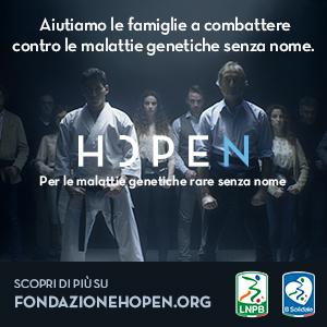 Lega B e B Solidale al fianco della Fondazione Hopen Onlus