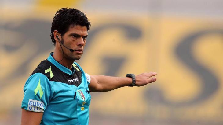 Nasca sarà l'arbitro di Perugia-Spezia