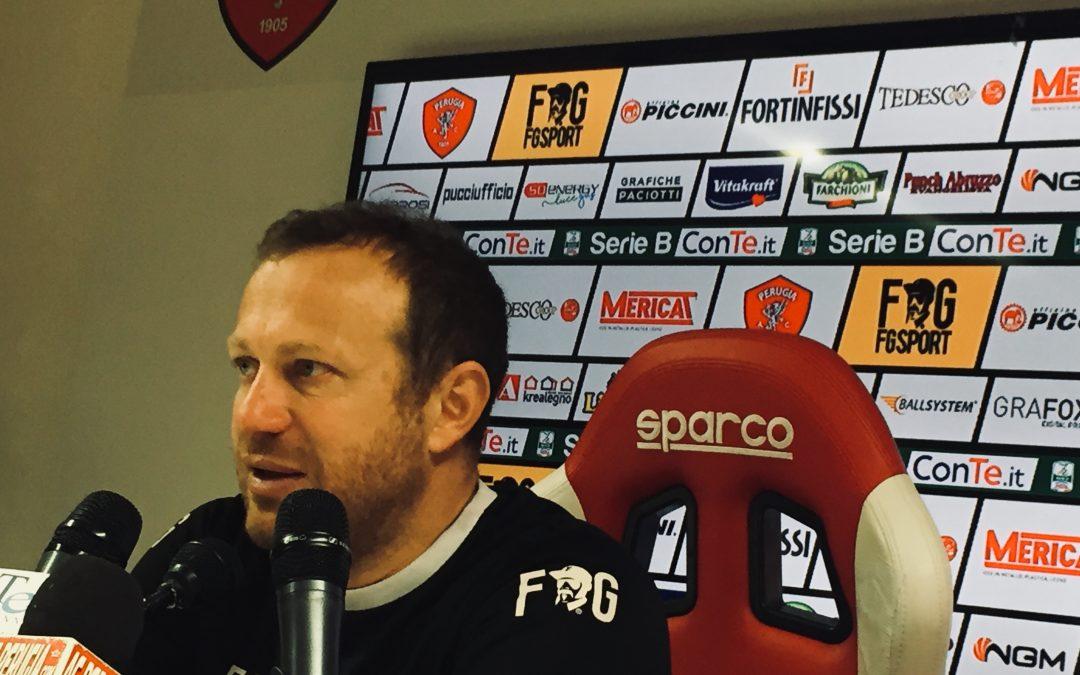 Conferenza stampa Mister Breda