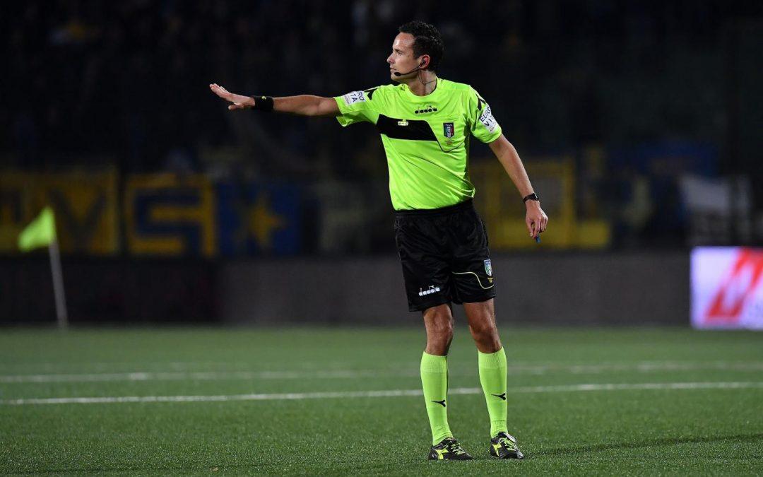 Martinelli dirigerà Perugia-Venezia