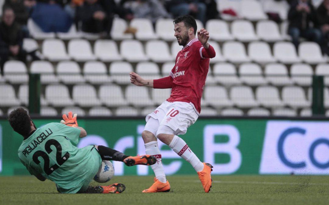 Pro Vercelli-Perugia termina 0-2