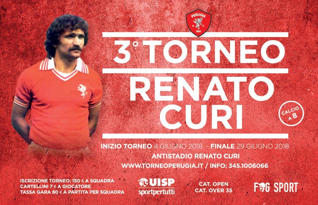 Iscrizioni per il 3° Torneo Renato Curi