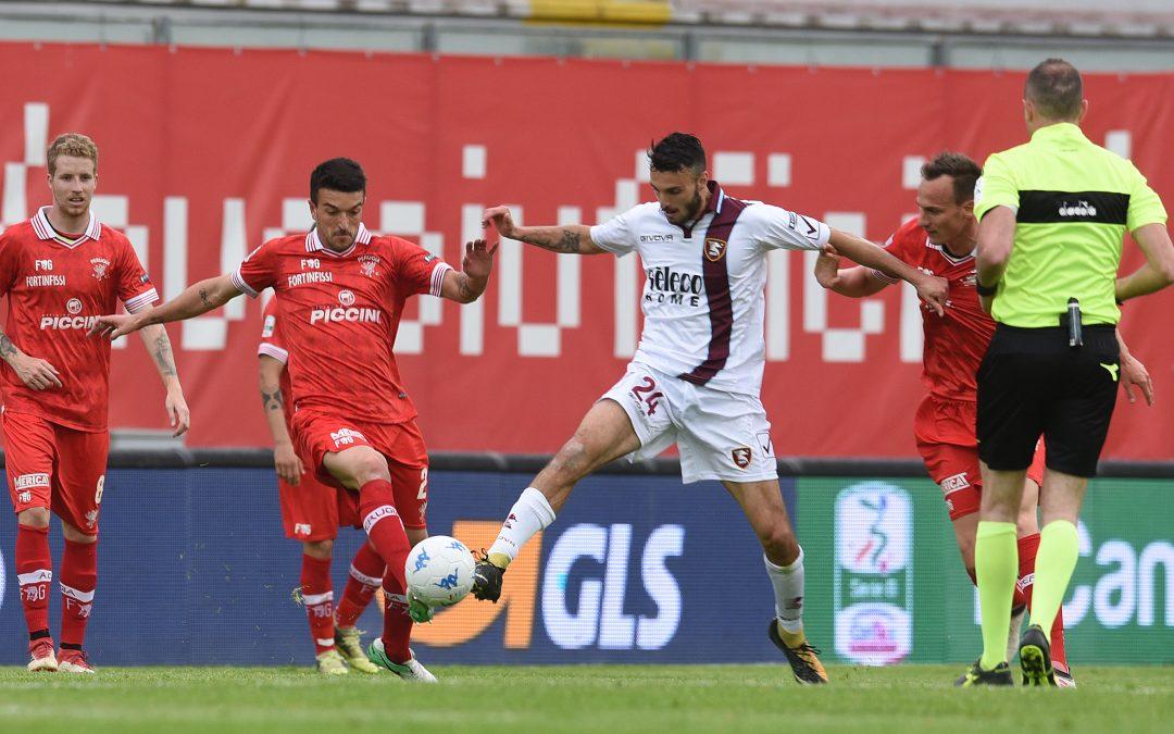 Perugia-Salernitana termina 1-1