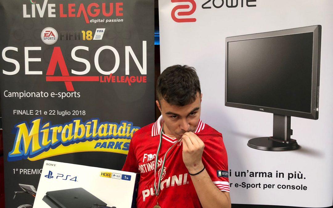 Ruggio vince la tappa Live Ligue