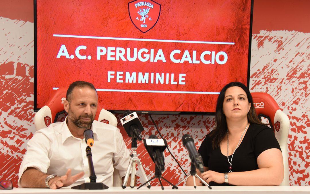 Presentata oggi l'A.C. Perugia Calcio Femminile
