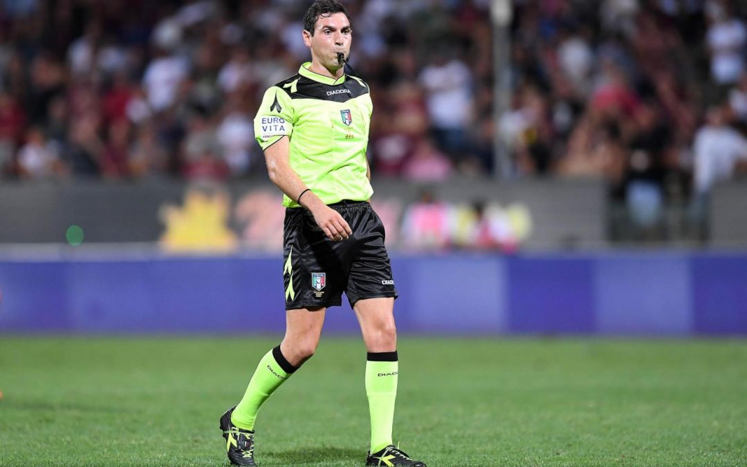 L'arbitro Sacchi designato per l'amichevole Perugia-Fermana
