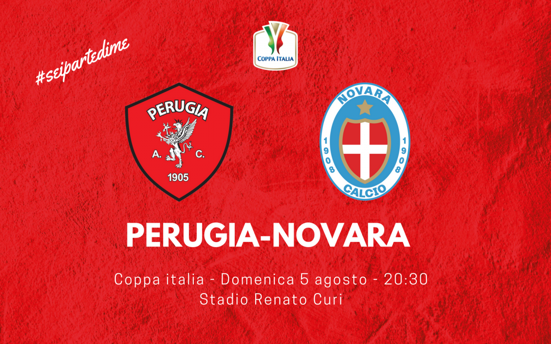 Coppa Italia, Perugia-Novara info biglietti