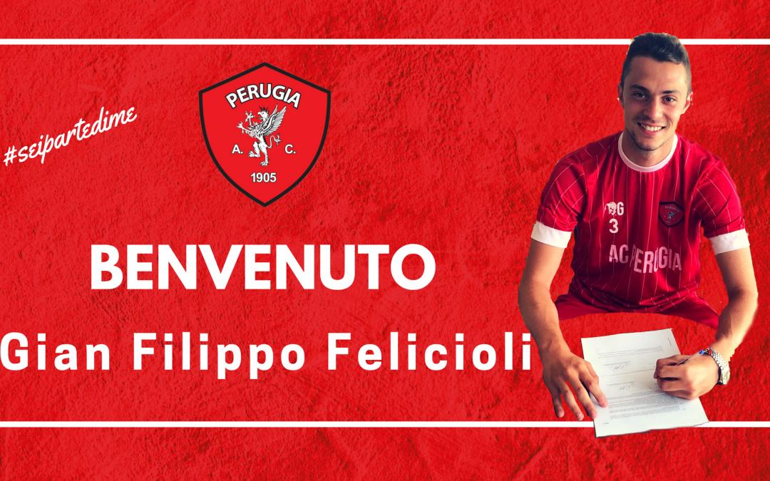 Benvenuto a Gian Filippo Felicioli