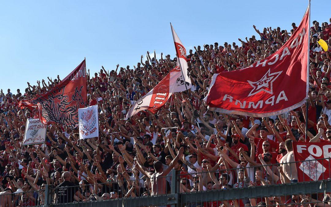 Perugia-Spal, biglietto Curva Nord a € 8