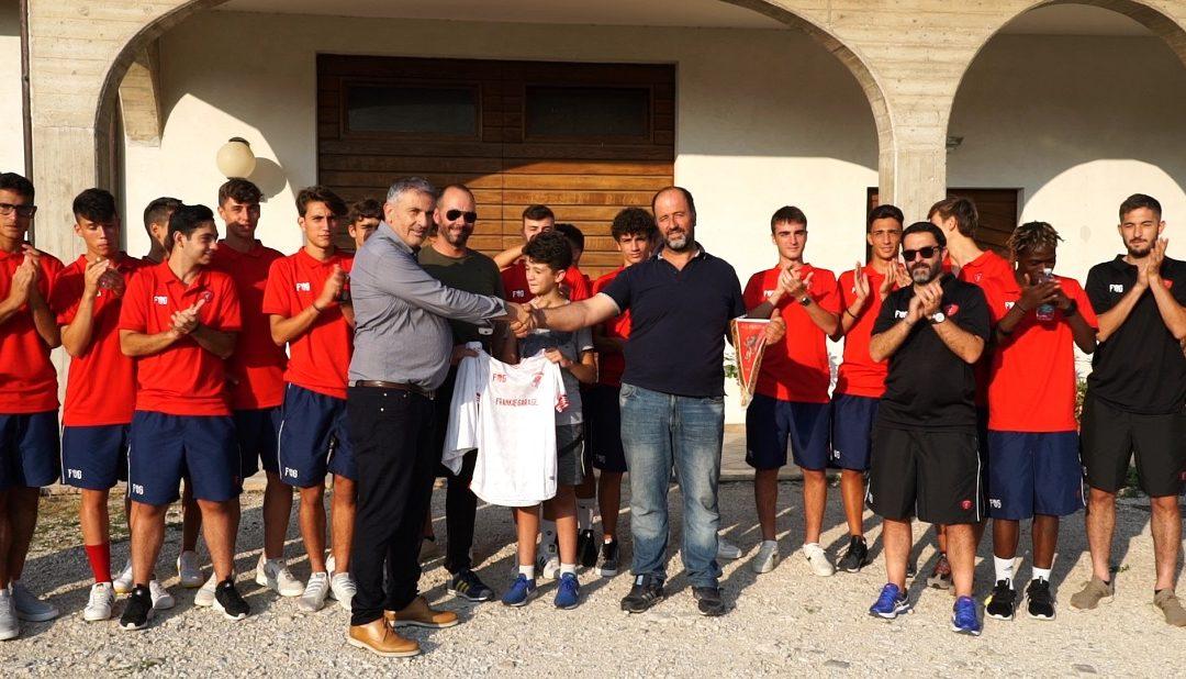 Cultura in Goal, gli Under 17 in visita all'azienda Palombi di Cascia