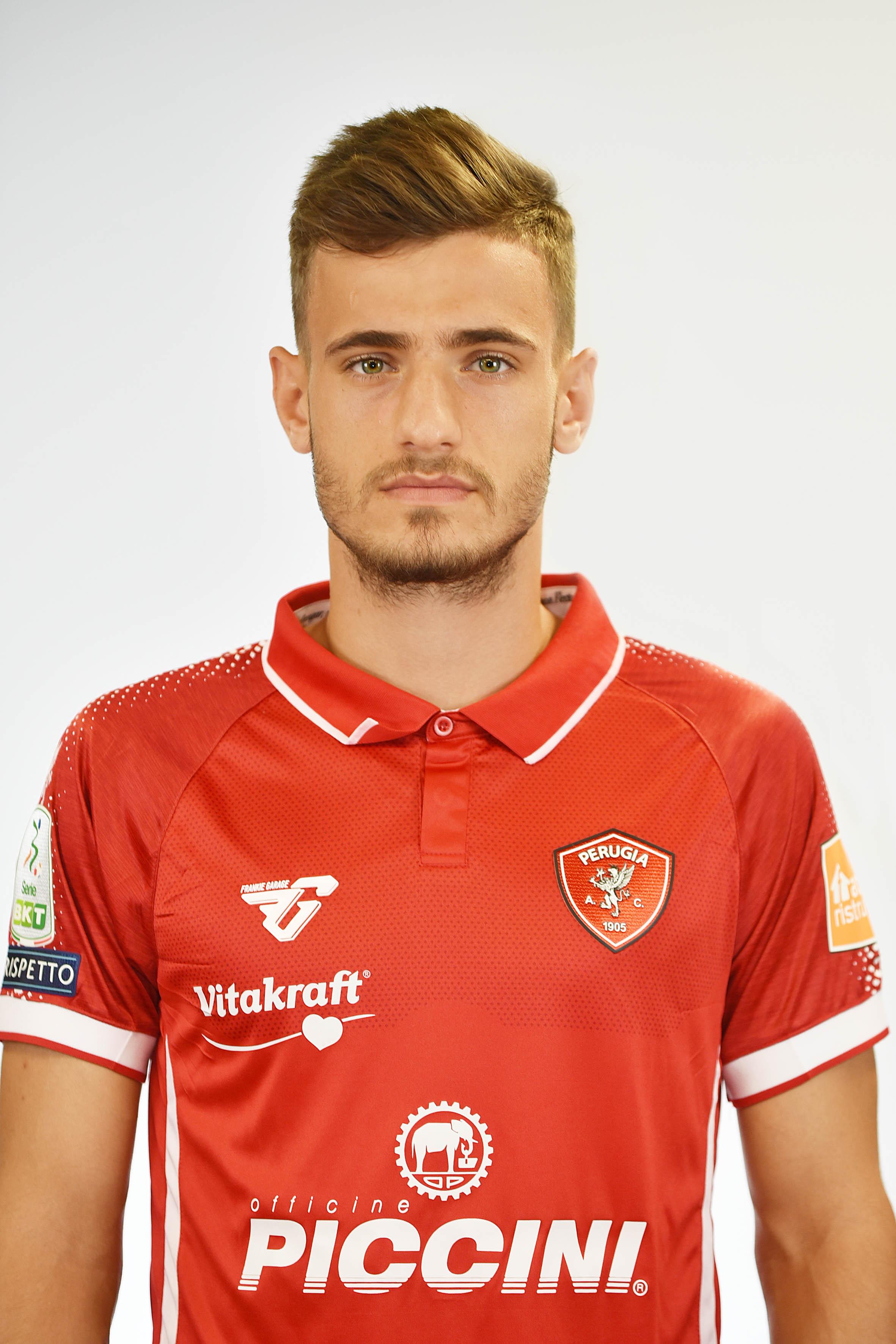 Vlad DragomirCentrocampista- A.C. Perugia Calcio