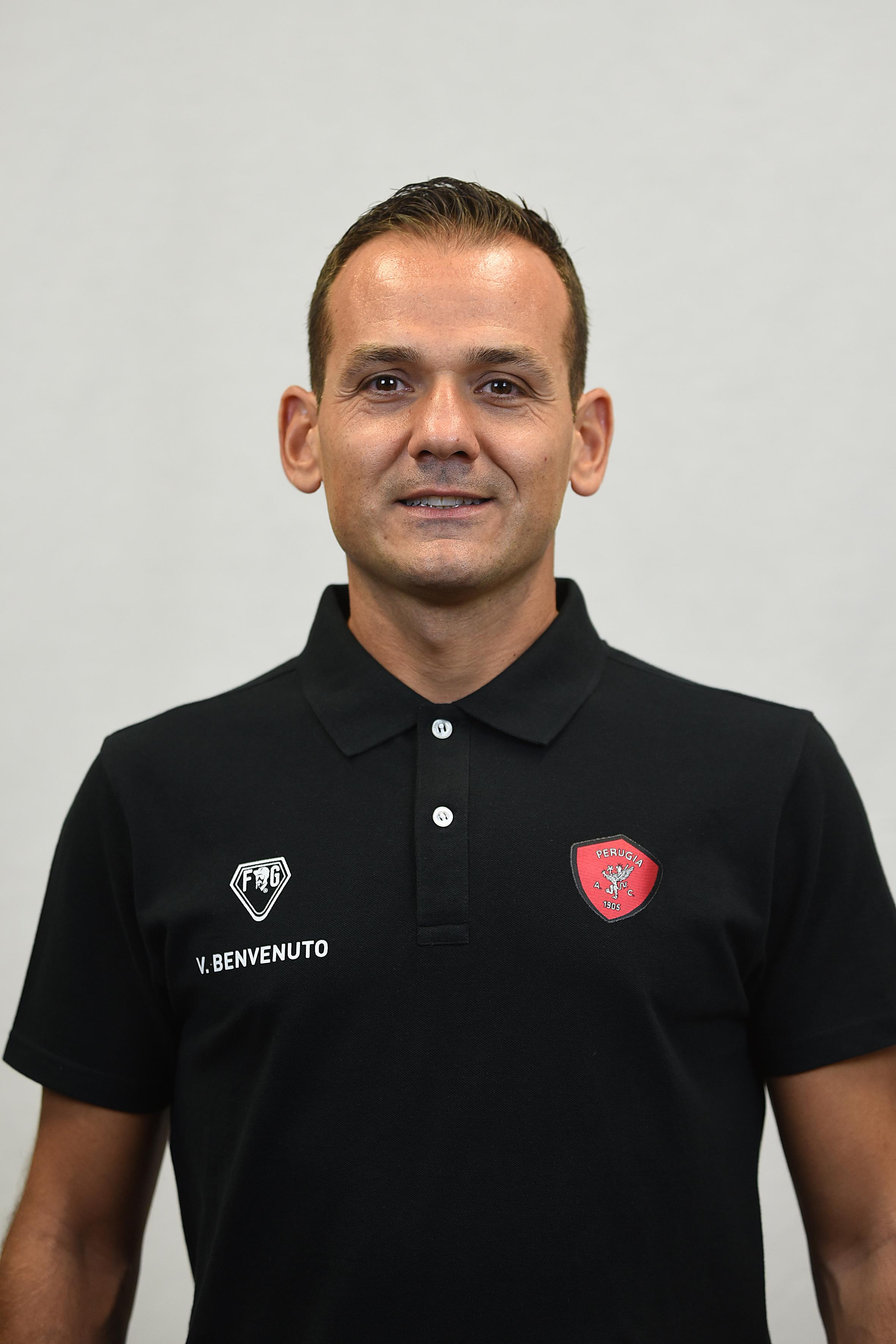 Vincenzo BenvenutoPreparatore Portieri- A.C. Perugia Calcio
