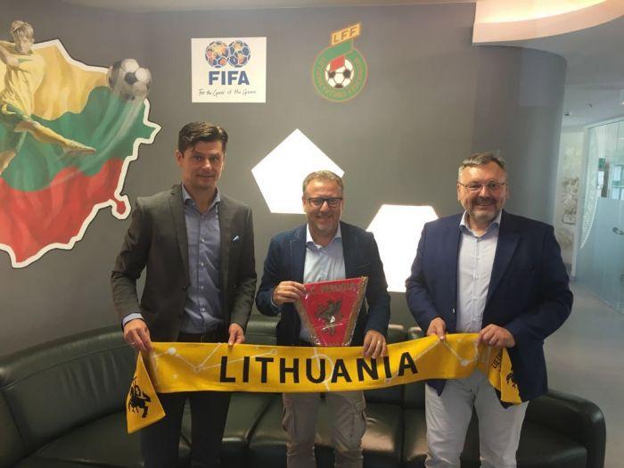 Academy, il dg Lucarini vola in Lituania
