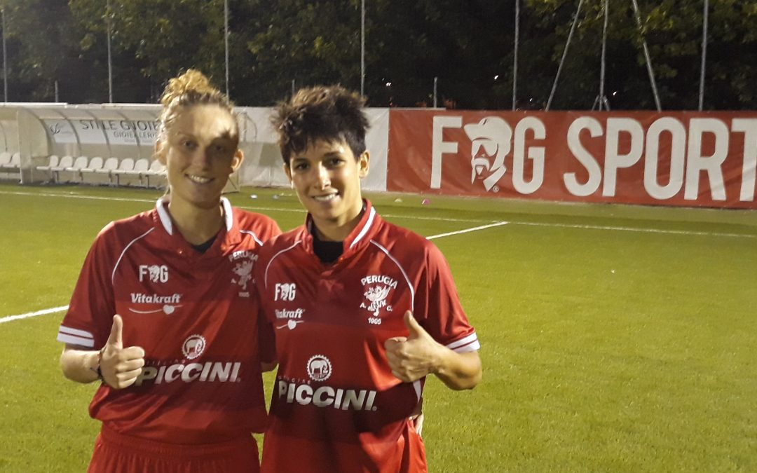 Femminile: Perugia-Grifone Gialloverde 4-0