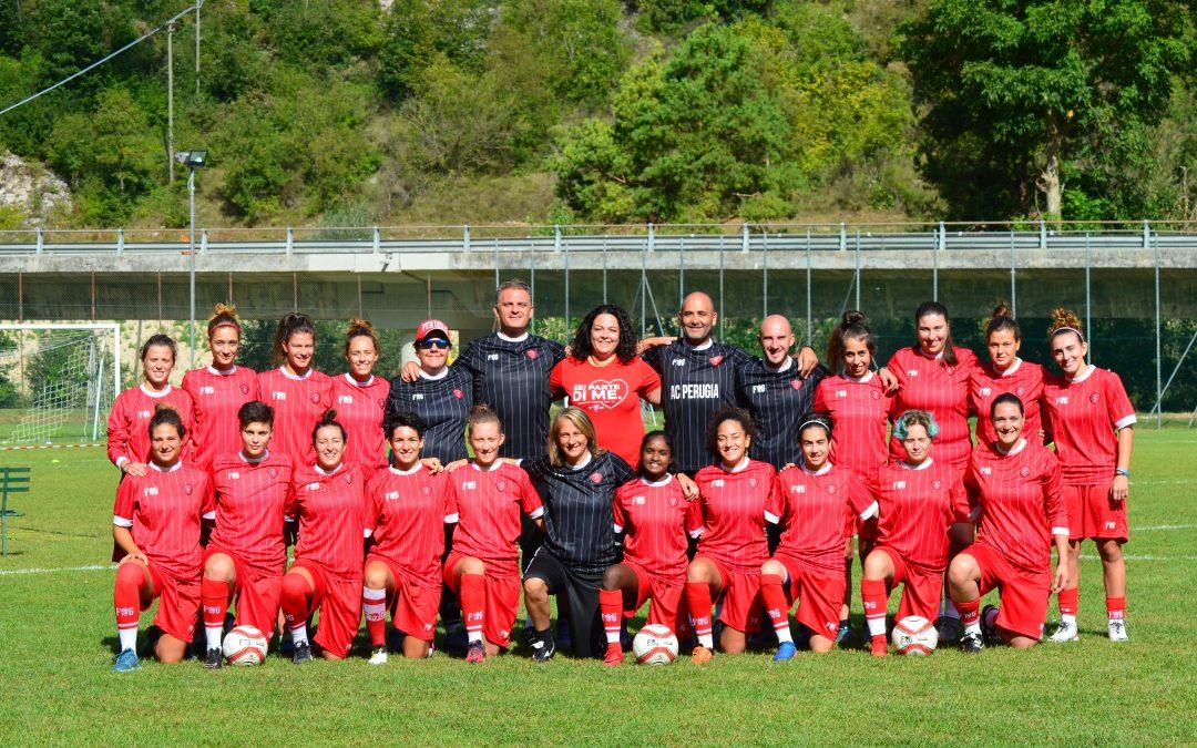 Tutto pronto per l'esordio del Perugia Femminile