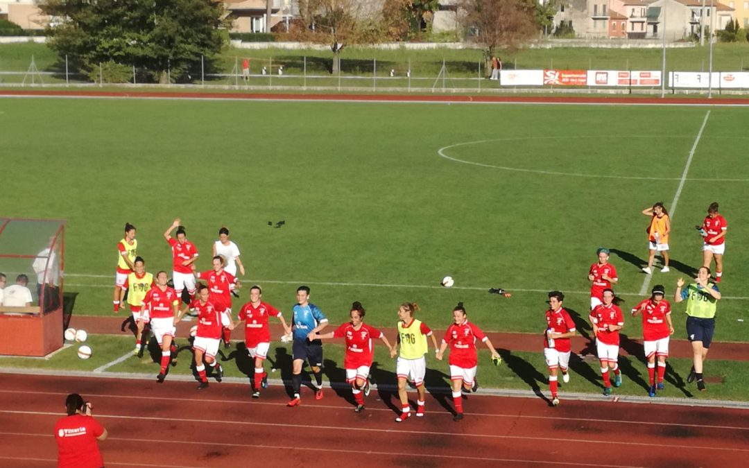 Jesina-Perugia 0-2: le Grifoncelle passano il turno di Coppa Italia