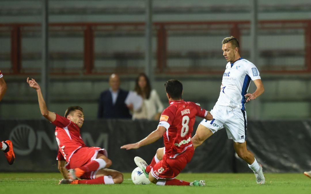 Perugia-N.D. Gorica termina 2-1