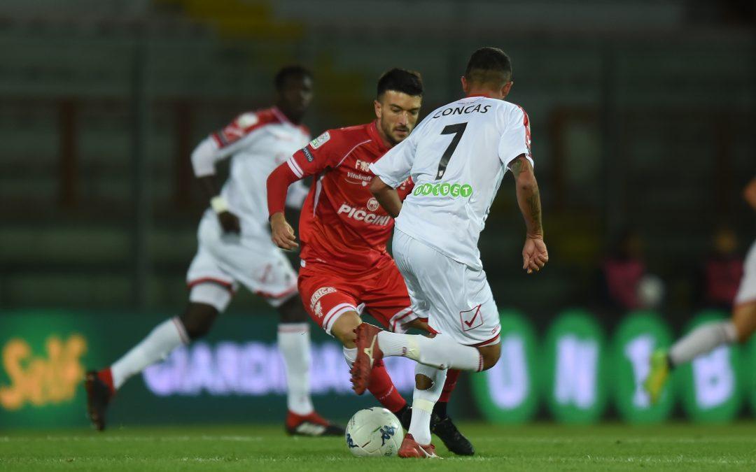 Perugia-Carpi termina 0-1