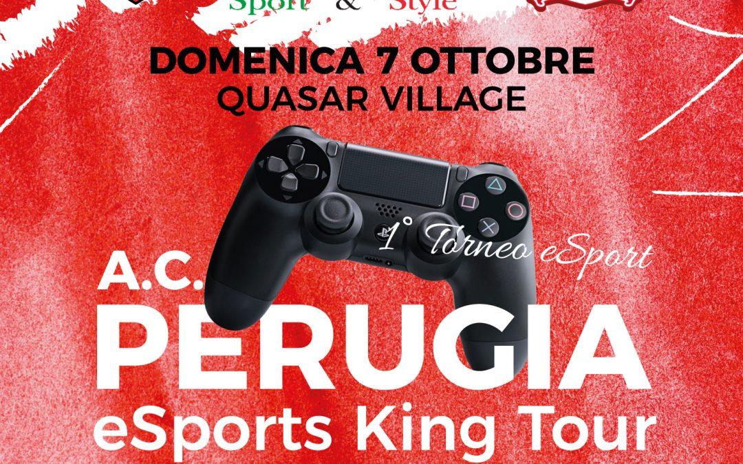 Il 7 ottobre prima tappa dell'A.C. Perugia Esports King Tour
