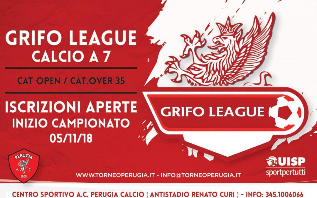 Torneo Grifo League, aperte le iscrizioni